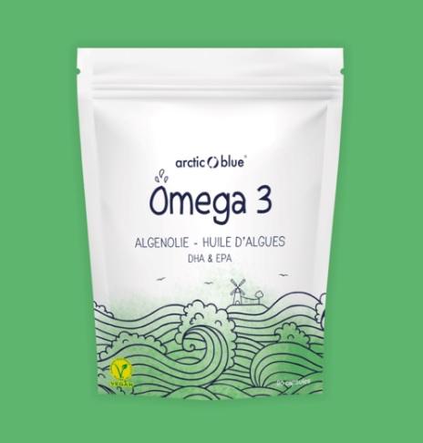 review Vegetarische Omega-3 Algenolie Capsules Arctic Blue