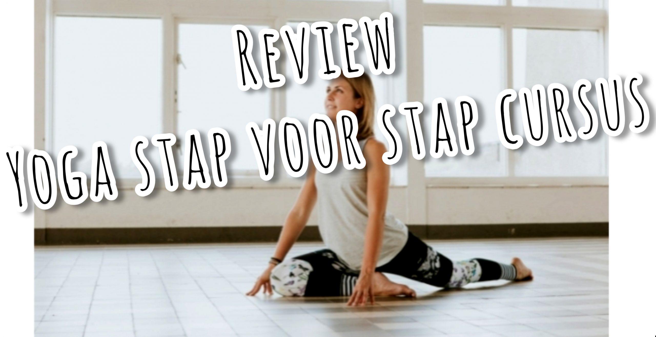 Review yoga stap voor stap cursus van happy with yoga uitgelicht